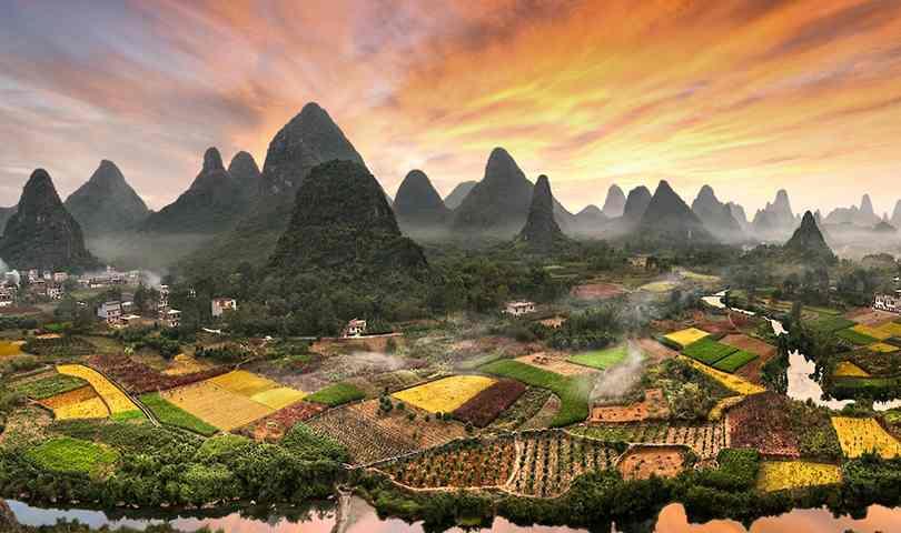 ทัวร์จีน กุ้ยหลิน นาขั้นบันไดหลงจี๋(นั่งกระเช้า) หยางซั่ว พัก 5 ดาว 6วัน 5 คืน