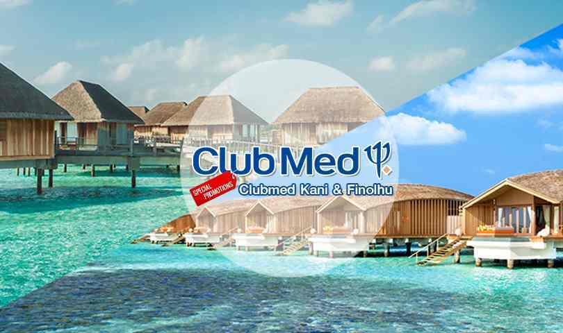 แพ็กเกจ Club Med Kani มัลดีฟส์  Maldives 3วัน 2คืน บิน Air Asia (FD)