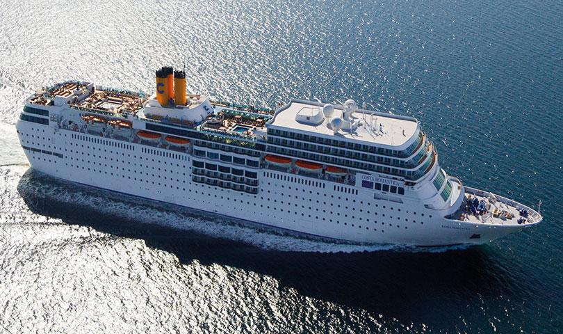ล่องเรือสำราญ Costa neoRomantica โอกินาว่า ฮวาเหลียน คีลุง ไทเป 6วัน 3คืน บิน(MU)
