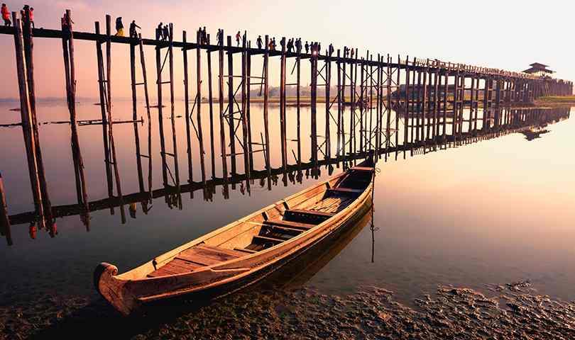 ทัวร์พม่า มัณฑะเลย์ สะพานไม้อูเบ็ง 3 วัน 2 คืน บิน