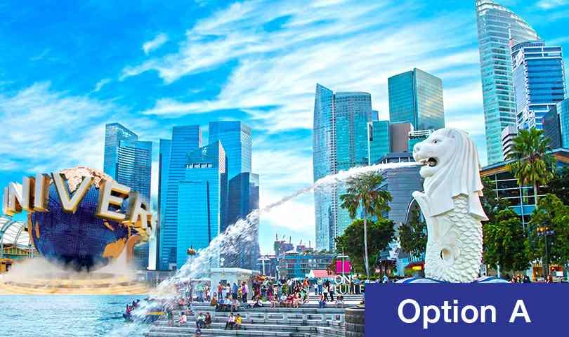 ทัวร์สิงคโปร์ สุดคุ้ม เดือนตุลาคม ตะลุยชมเมืองสิงคโปร์ Option A (อิสระ) 4วัน 3คืน