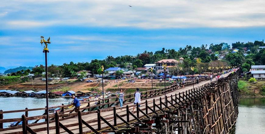 ทัวร์กาญจนบุรี ออนเซน สังขละบุรี พม่า 3วัน 2คืน