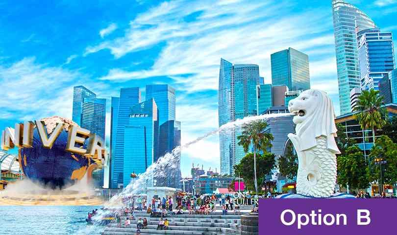ทัวร์สิงคโปร์ เที่ยวสุดคุ้ม เดือนกรกฎาคม ชมเมืองสิงคโปร์  4วัน 3คืน บิน (SL)