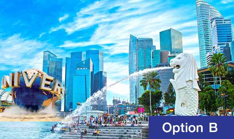 ทัวร์สิงคโปร์ สุดคุ้ม เดือนตุลาคม ตะลุยชมเมืองสิงคโปร์ (Tour Full) 4วัน 3คืน