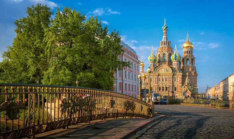 ทัวร์รัสเซีย เที่ยวทั่ว 2เมือง มอสโคว์  เซ้นต์ปีเตอร์สเบิร์ก พักดี 4ดาว 6วัน 4คืน