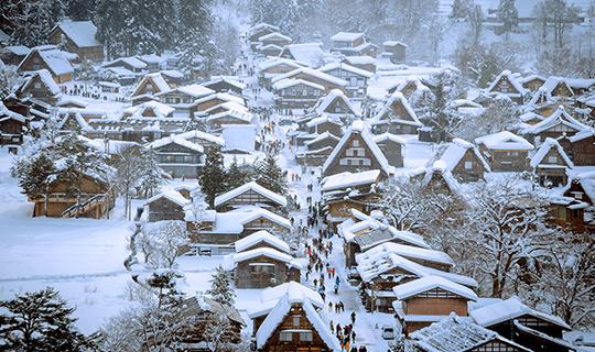 ทัวร์ญี่ปุ่น Hello Golden Route ทัวร์โอซาก้า ทาคายาม่า ชิราคาวาโกะ โยโกฮาม่า โตเกียว 6 วัน 3 คืน บิน (XJ)